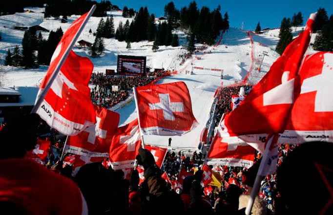 Ski-Weltcup Adelboden 2010