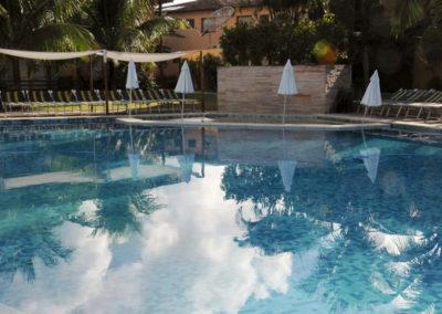 Der Pool für die Mitglieder des Staffs