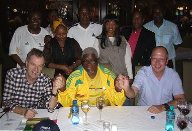 Emil Bolli auf Reko-Reise für die WM 2010 in Südafrika